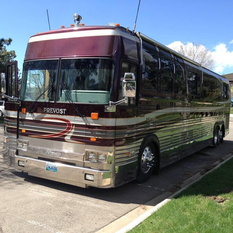 1991 prevost rv for sale motorhome coach bus us canada for Prevost motor coach sales